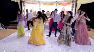Best wedding family dance || Nepali and Hindi Medley || SandeepWedsPrerana ||