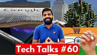 Tech Talks #60 - No Internet PayTM, 100% Clean Google, NASA Robot, Galaxy S8, LG G6