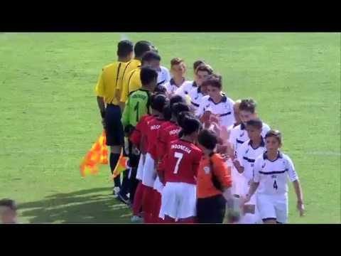 Indonesia vs USA Ranking Match 13 14 Full Match Danone Nations Cup 2015
