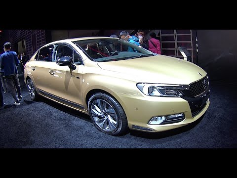 2016, 2017 Citroen DS 5LS, 60 Years Anniversary, Limited Edition