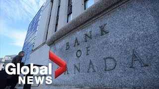 Bank of Canada keeps key rate at 1.75%, downgrades economic forecast