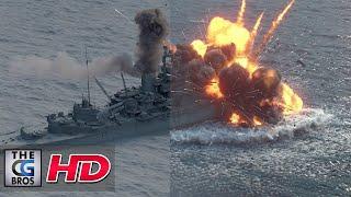 "CGI & VFX Breakdowns: "" Breakdown German Battleships"" - by Wargaming.net"