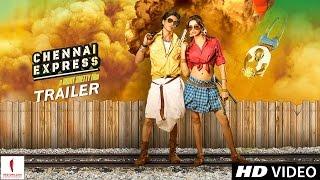 OFFICIAL TRAILER - Chennai Express - Theatrical Trailer - Shah Rukh Khan & Deepika Padukone