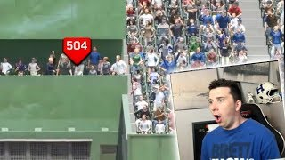 Home Run Dead Center At Polo Grounds! MLB The Show 18 Challenge