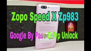 Zopo Spees X Zp983 Google Bypass And Frp Unlock