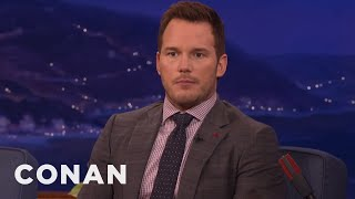 Chris Pratt Doesn't Always Want To Take A Selfie With You  - CONAN on TBS