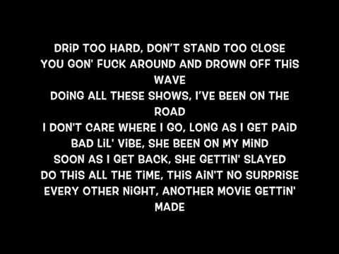 Lil Baby & Gunna - Drip Too Hard (Lyrics)