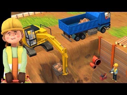 Little Builders App Trucks Cranes & Diggers Top Best Apps For Kids