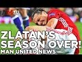 ZLATAN'S SEASON OVER? | Celta Vigo Up Next | Latest Manchester United News