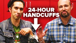Creationist And Evolutionist Are Handcuffed For 24 Hours