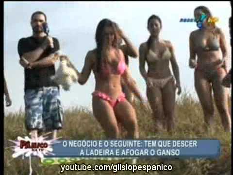 Pânico Na TV 26 06 2011 Prova das Panicats Afogando o Ganso