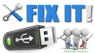 Flash Drive Repair Tool