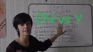 The difference between EN et Y