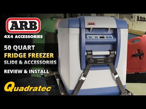 ARB Fridge Freezer and Sliding Drawer Installation