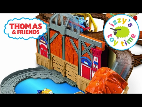 Thomas and Friends Play Table Thomas Train Rescue from Misty Island Toy Trains for Kids