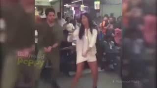 Katrina Kaif dances with the public!