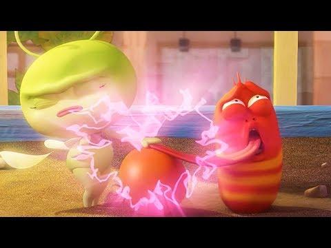 LARVA - ELECTRIC LOVE | Cartoon Movie | Cartoons For Children | Larva Cartoon | LARVA Official
