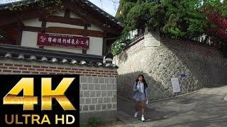 "[4K 2160p] Korean Traditional Town ""BUKCHON HANOK Village""2/2.北村韓屋村(ブッチョンハノクマウル)북촌한옥마을"