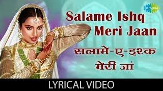 Salam e Ishq with lyrics | सलाम ए इश्क़ गाने के बोल | Muqaddar ka Sikandar | Rekha | Amitabh Bachchan