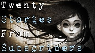 20 SCARY TRUE SUBSCRIBERS HORROR STORIES - Vol.3 (Be Busta)