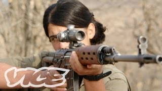 Female Fighters of Kurdistan (Part 1/3)