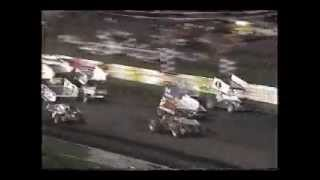 1980's Sprint Car and Dirt Crashes, Flips and Fights