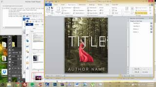 How to make an ebook cover in Microsoft Word (Part 1)