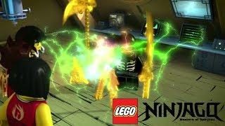 Lloyd devine ninja verde - Ninjago episodul 10 in romana