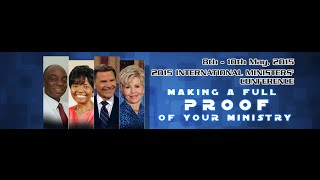 Bishop Oyedepo&Kenneth Copeland:Int'l Ministers' Conf. Day3 Morning