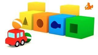 Cartoon Cars - FISH FARM! - Children