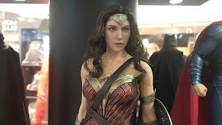 Wonder Woman prototype by Hot Toys on display in HK