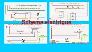 schema electrique maison et habitation