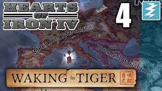HANGING ON BY A THREAD [4] With Aldrahill - Hearts of Iron IV - Waking The Tiger DLC