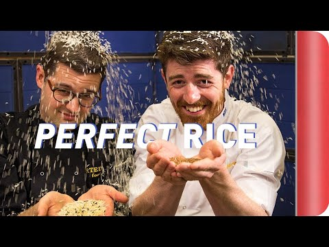 How To Cook Perfect Rice Two Chefs at a Table