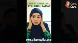 Cara Pemakaian Shawl