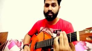 Bol chitthi kile ni bheji garhwali song on guitar
