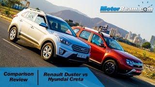 2016 Renault Duster vs Hyundai Creta - Comparison Review | MotorBeam