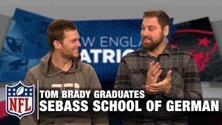 Tom Brady Tries to Speak German in Sebastian Vollmer