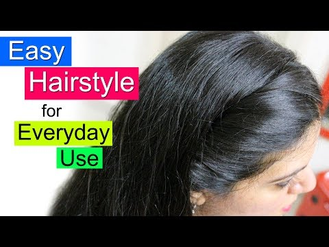 Xxx Mp4 Easy Hairstyles For School College Or Office Everyday Hair Style Simple Hairstyle For Girls 3gp Sex