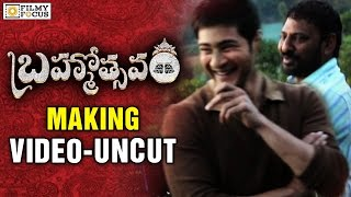 Brahmotsavam Movie Making || Full Video || Mahesh Babu, Samantha, Kajal Aggarwal - Filmyfocus.com