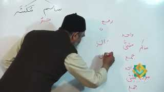 Lecture 08 - Quran Arabic As Easy as Urdu By Aamir Sohail