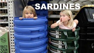 SARDINES AT LOWES!!   HIDE AND SEEK!