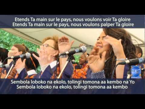 African Joys Universal Wes Koka « Kitisa Moto » concert à Rodange