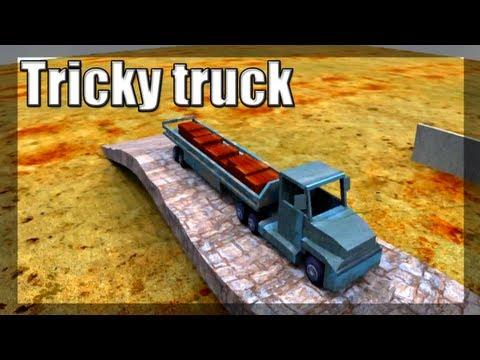 Jogando Tricky Truck