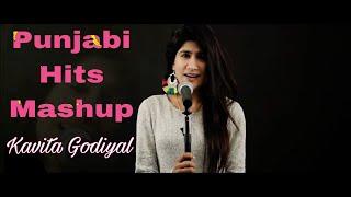 Khaab/ teri kami/ Tutda hi jaave/ aadat/ Roi na   Punjabi MASHUP by Kavita Godiyal   2017 hits