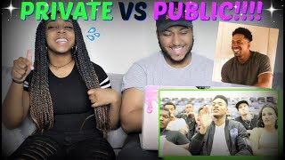"Tpindell ""PUBLIC SCHOOL vs. PRIVATE SCHOOL"" REACTION!!!"