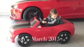 AWESOME!  Kids Ride On Camaro doing Burnouts!   Power Wheels   Amazing Kid Toys   Bonus Video