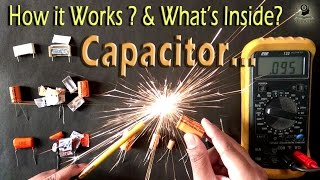 How a Capacitor works in a circuit / Both in AC & DC current