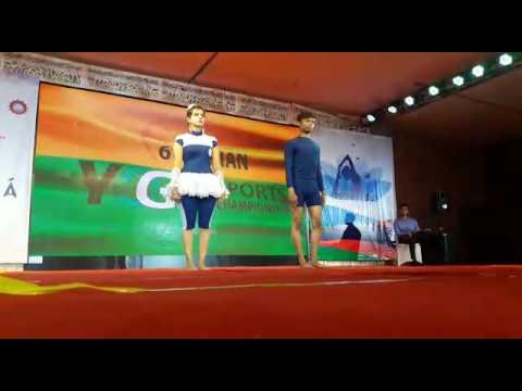 Xxx Mp4 Artistic Pair By Vikas Pinki In 6th Asian Yoga Sports Championship Vietnam 2016 3gp Sex