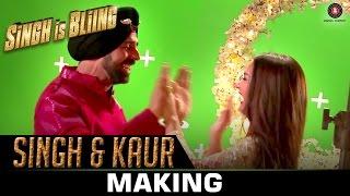 Singh & Kaur Making - Singh Is Bliing | Akshay Kumar, Amy Jackson | Manj Musik, Nindy Kaur & Raftaar